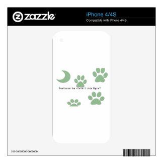 Italian-Ogre Skin For iPhone 4S