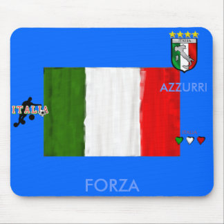 Italian oil painting style flag of Italy Mouse Pad