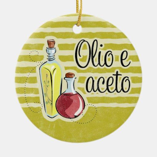 Italian Oil & Vinegar Ornament