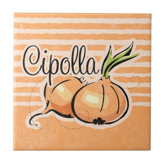 Italian Onion Tile Trivet