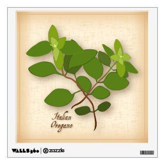 Italian Oregano Herb Wall Decal