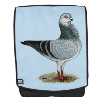 Italian Owl Grizzle Pigeon Backpack