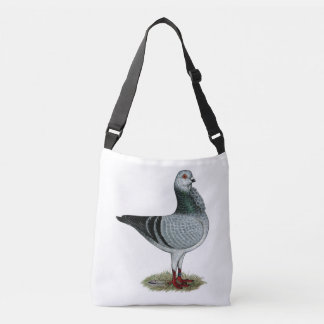 Italian Owl Grizzle Pigeon Crossbody Bag