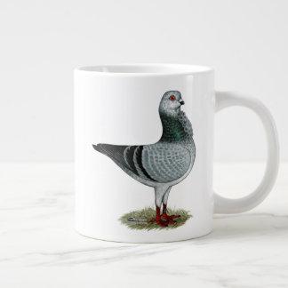 Italian Owl Grizzle Pigeon Large Coffee Mug