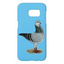 Italian Owl Grizzle Pigeon Samsung Galaxy S7 Case