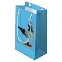 Italian Owl Grizzle Pigeon Small Gift Bag