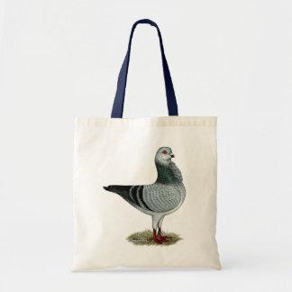 Italian Owl Grizzle Pigeon Tote Bag