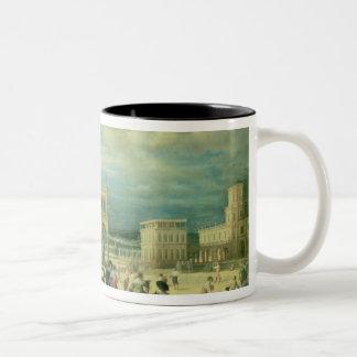 Italian Palace, 1623 Two-Tone Coffee Mug