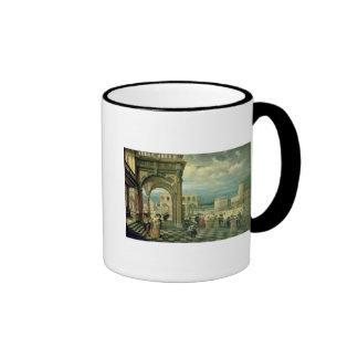 Italian Palace, 1623 Ringer Coffee Mug