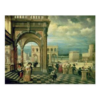 Italian Palace, 1623 Postcard