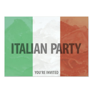 italian party invitation
