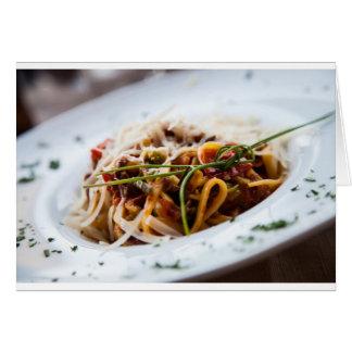 Italian Pasta Card