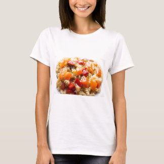 Italian pasta fusilli with vegetable ragout of pep T-Shirt