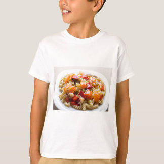 Italian pasta fusilli with vegetable sauce T-Shirt