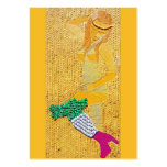 Italian Pasta Girl ATC Large Business Cards (Pack Of 100)