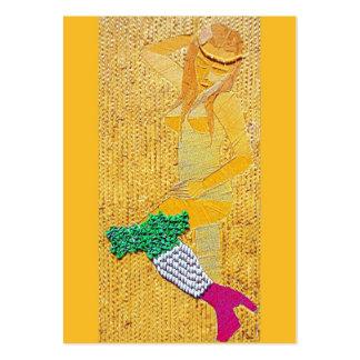Italian Pasta Girl ATC Large Business Card