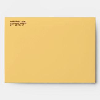 Italian Pasta Girl Envelope