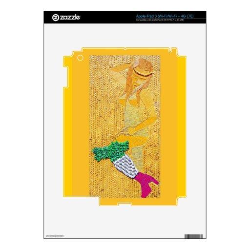 Italian Pasta Girl iPad 3 Decals