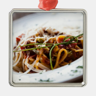 Italian Pasta Metal Ornament