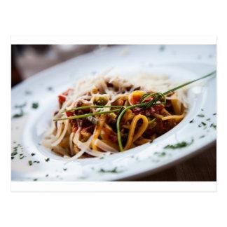 Italian Pasta Postcard