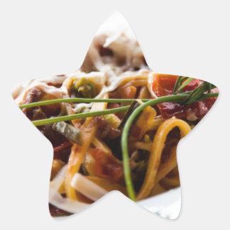 Italian Pasta Star Sticker