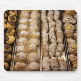 Italian pastries mouse pad