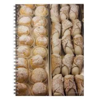 Italian pastries notebook