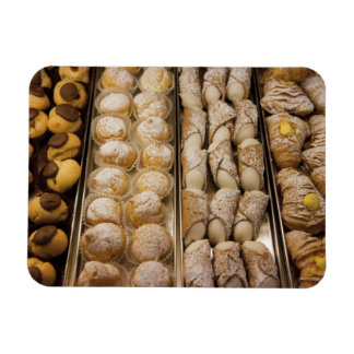 Italian pastries rectangular magnets