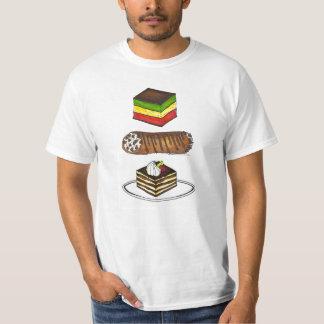 Italian Pastries Tiramisu Rainbow Cookie Cannoli T T-Shirt