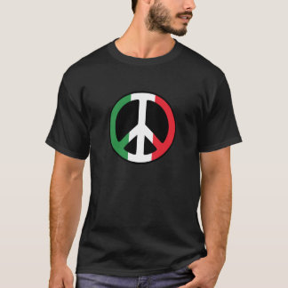Italian Peace Sign Tee Shirt