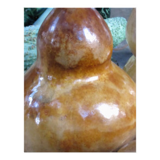 Italian pear-shaped pumpkin letterhead