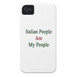 Italian People Are My People iPhone 4 Case-Mate Cases