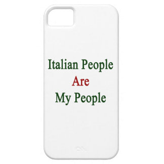 Italian People Are My People iPhone 5 Cover