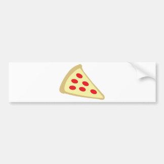 italian pizza bumper sticker