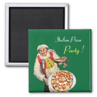 ITALIAN PIZZA,green Magnet