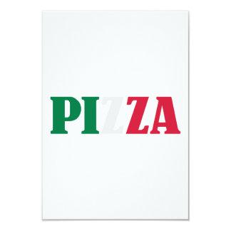 Italian pizza invitation