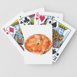 Italian Pizza Margherita Bicycle Playing Cards