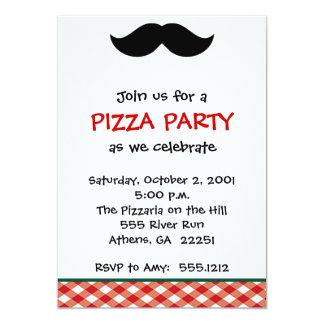 Italian Pizza Party Custom Announcements