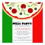 Italian Pizza Party Invitation