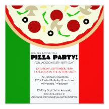 Italian Party Invitations