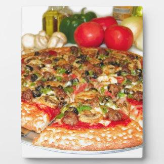 Italian Pizza Plaque