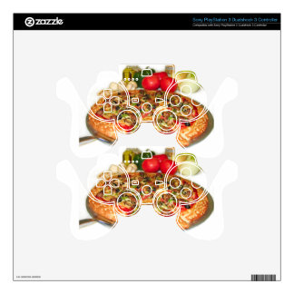 Italian Pizza Skins For PS3 Controllers