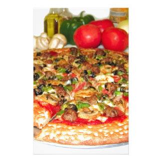 Italian Pizza Stationery