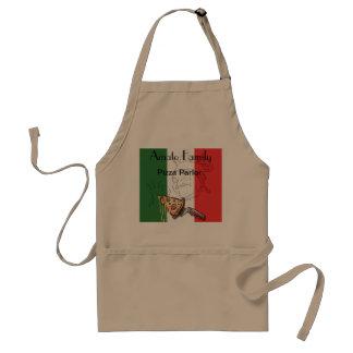 Italian Pizza Themed Apron