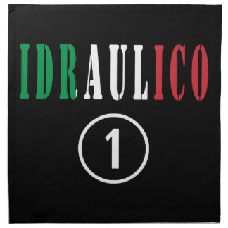 Italian Plumbers : Idraulico Numero Uno Napkin