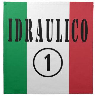 Italian Plumbers : Idraulico Numero Uno Cloth Napkins