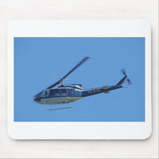 Italian Police helicopter. Mouse Pad