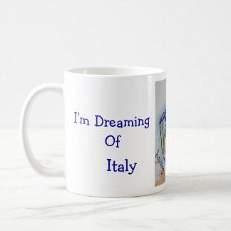 Italian Pottery Classic White Coffee Mug