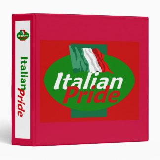 Italian Pride Avery Binder