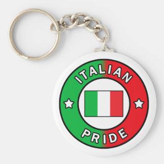 Italian Pride keychain